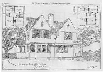 Shingle-style house plan book.