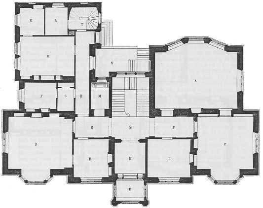 Gothic Mansion Floor Plans Omahdesigns Net