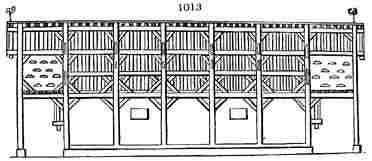 barn plan, 1834.