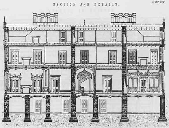 Gothic Mansion Plans And Detail Construction Design Plans