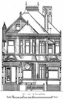 California victorian houses with plans designed by newsom for 1890 house plans