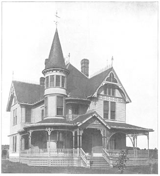Geo Barber Victorian 1891 House Plan
