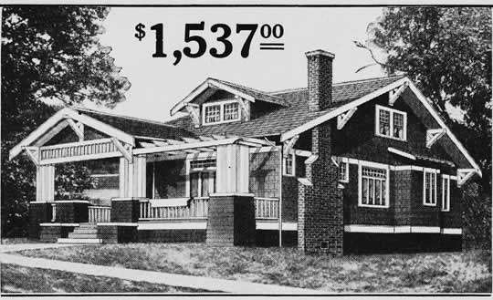 Craftsman Mail order Bungalow House Plans 1903