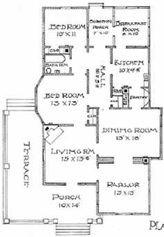 Southern Home Plan.