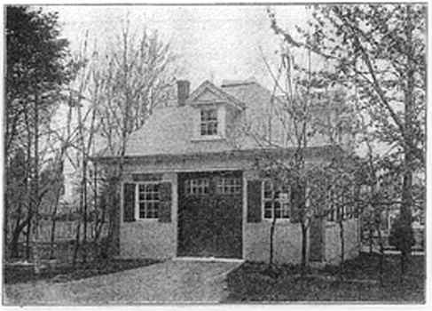 Barn plans and carriage house plans and vintage garages for Vintage garage plans