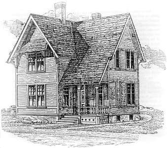 Folk Victorian House Plans from the mid  s Cottage for a Mill Hand at Chelsea  Massachusetts