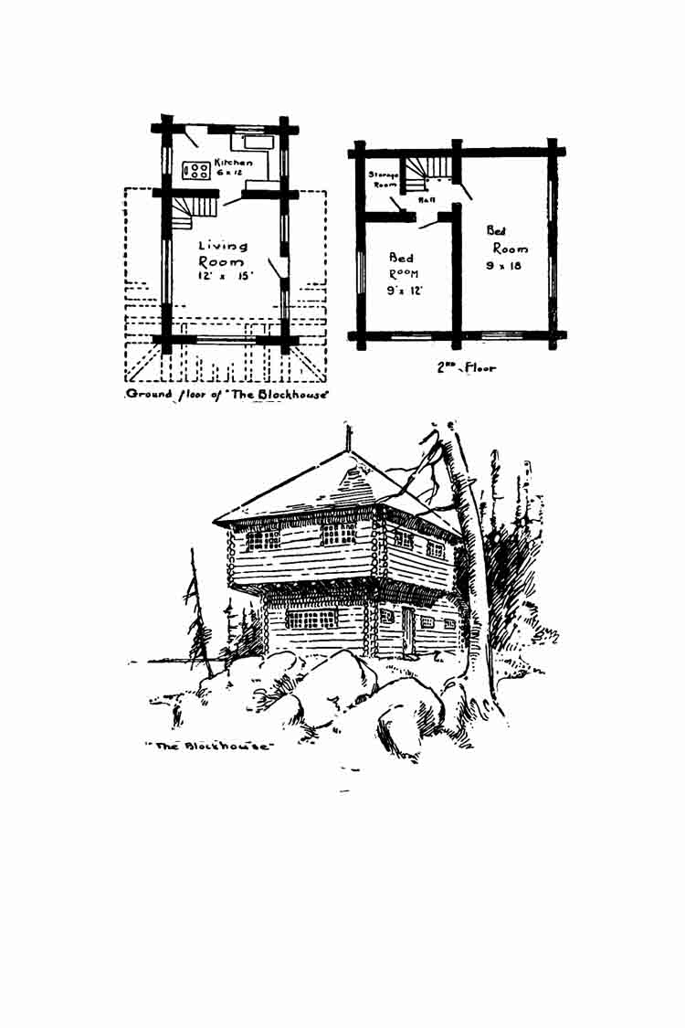 Free home plans stone log glass house plans for Glass house blueprints