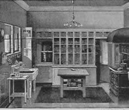 Victorian kitchen design.