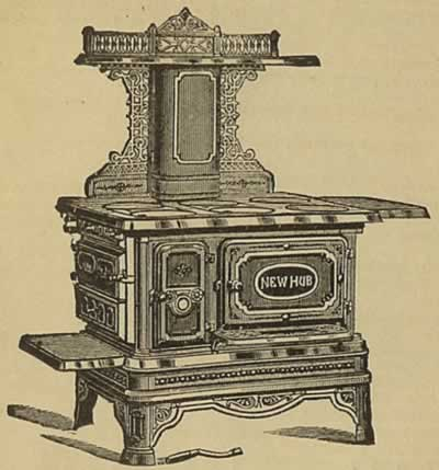 1884 Cooking Stove.