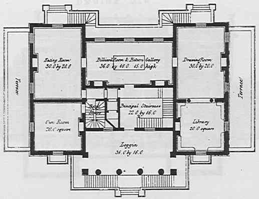 english mansion house plans from the 1800s